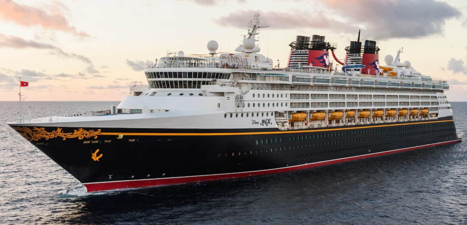 Disney Magic cruise line ship