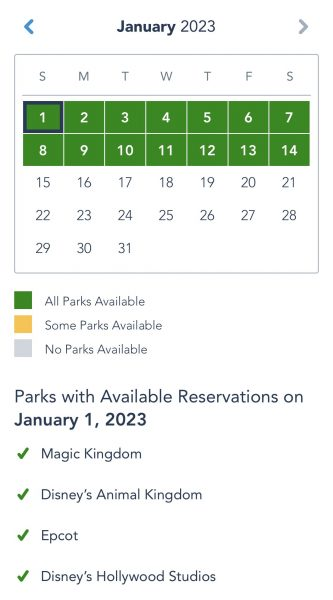 disney park pass system extended through january 2023
