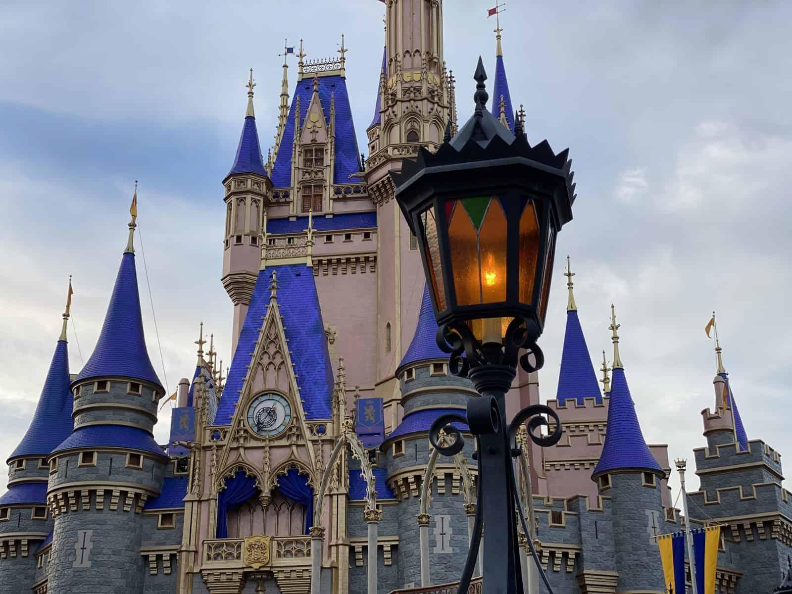 Pink Cinderella Castle