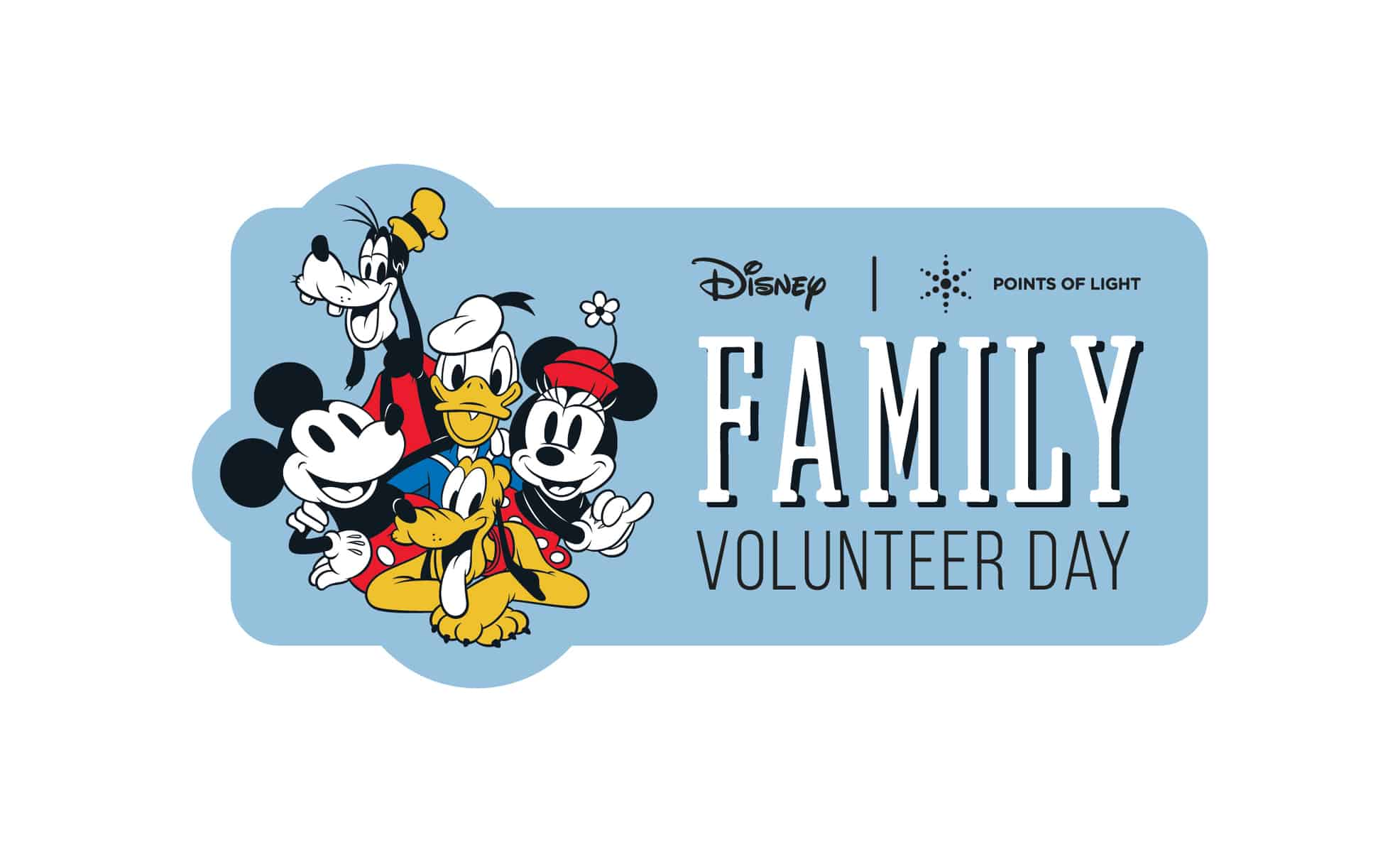 Family Volunteer Day at Walt Disney World