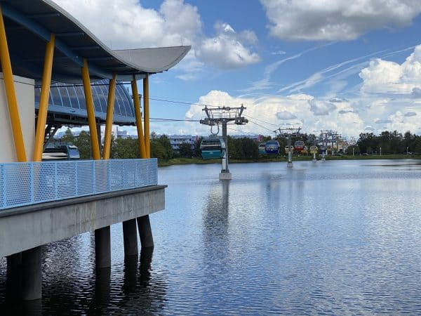 disney skyliner at pop century and art of animation