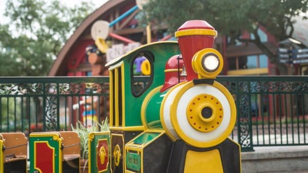 disney springs marketplace train 600x337 - Wyndham Garden Lake Buena Vista - Disney Springs Resort Area