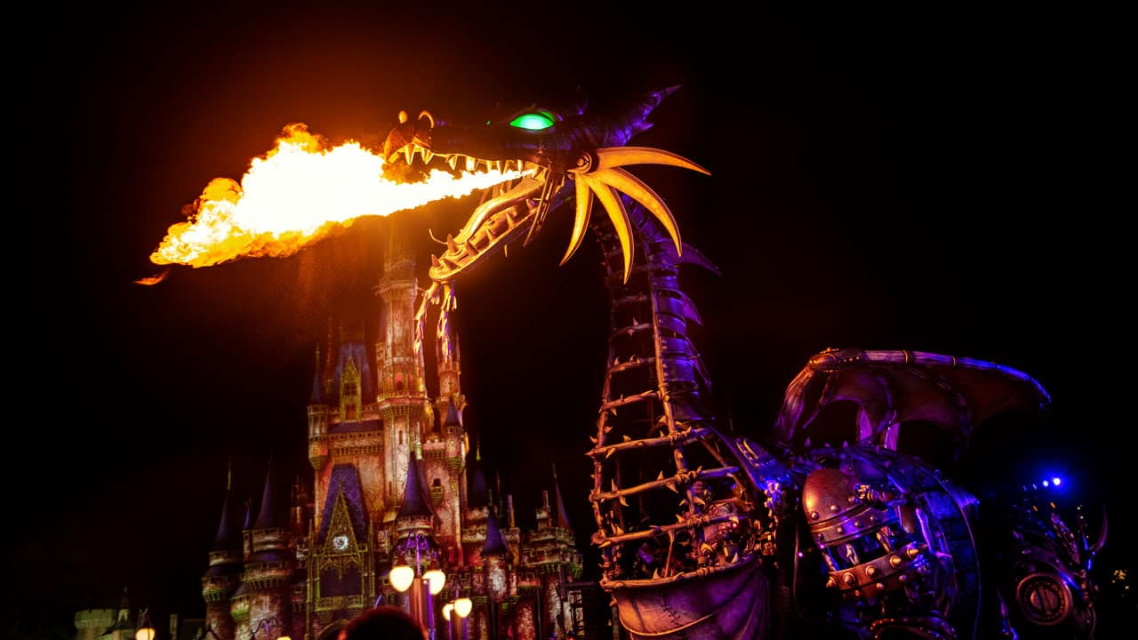 Maleficent at Disney Villains After Hours