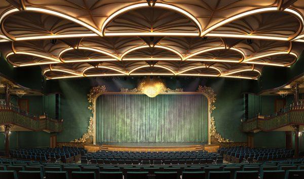 walt disney theatre on disney wish