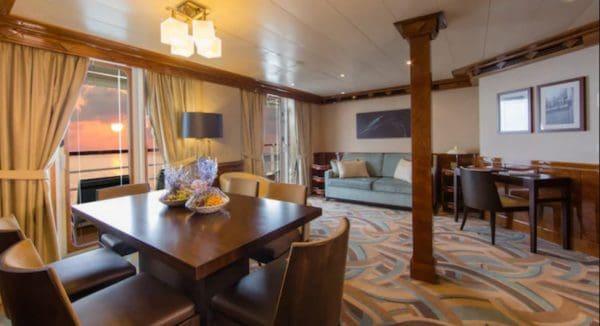 Disney Wonder Concierge 2 bedroom with verandah