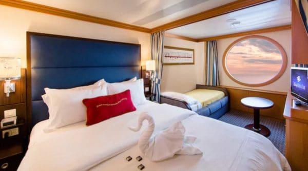Disney Wonder Oceanview Stateroom