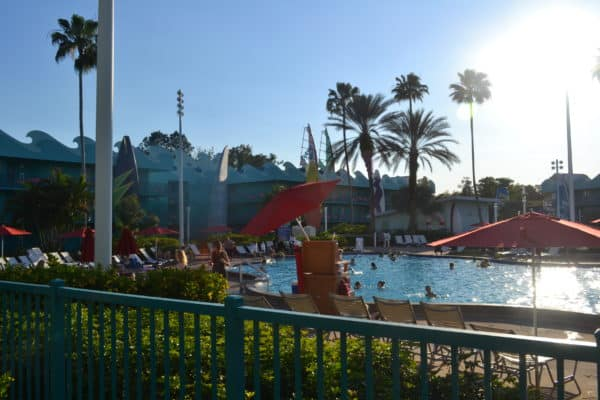 All Star Sports pool Can you pool hop at Disney World?