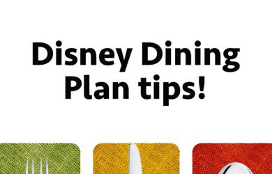 disneydiningplantipspodcast 390x250 - Disney Dining Plan tips - PREP152