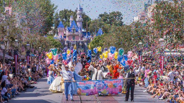 Disneyland Birthday Celebration