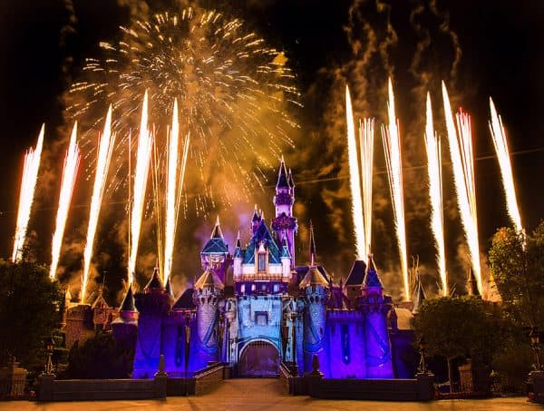 Disneyland July 4th Fireworks