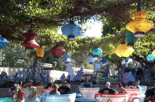Mad Tea Party - Disneyland