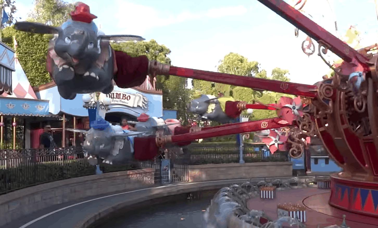 Dumbo at Disneyland