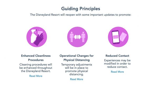 disneyland health and safety reopening protocols
