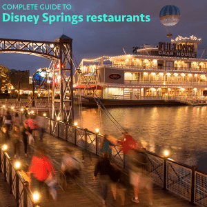 Disney Springs restaurants