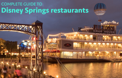 disneyspringsrestaurants 390x250 - Disney Springs restaurants and dining