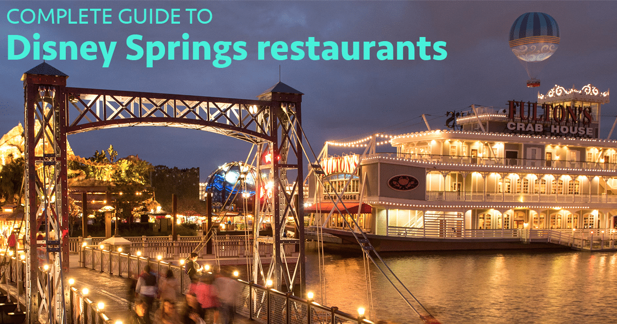 Pros And Cons For All Disney Springs Restaurants Wdw Prep