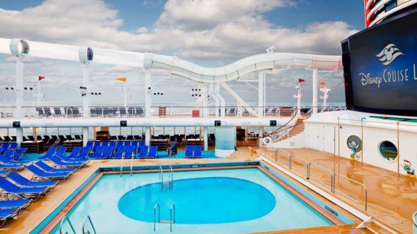 Donald's Pool on Disney Cruise Line