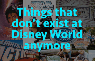 Things that don't exist at Disney World anymore | WDW Prep School