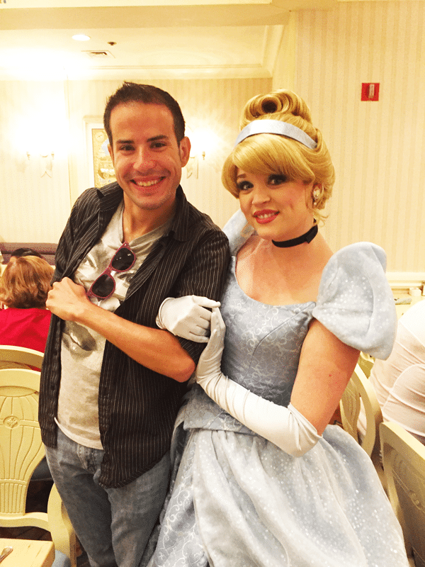 dustincinderella - Dining with the Character Queen: 1900 Park Fare Dinner