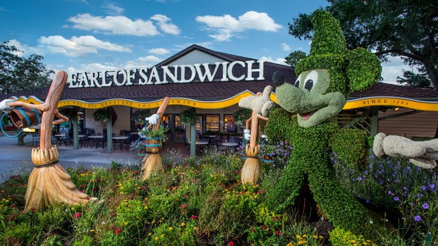 Disney Springs Dining - Earl of Sandwich (dinner)