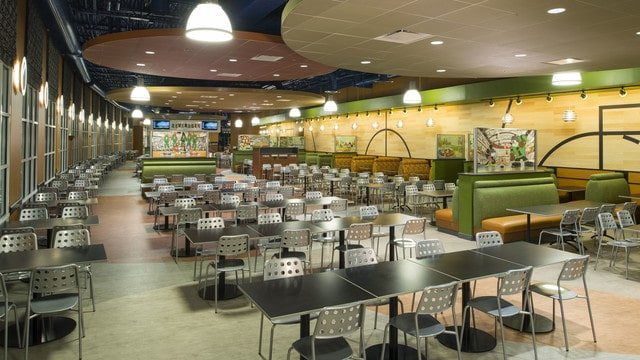 All-Star Sports – Temporarily Closed - End Zone Food Court (breakfast) – Temporarily Closed