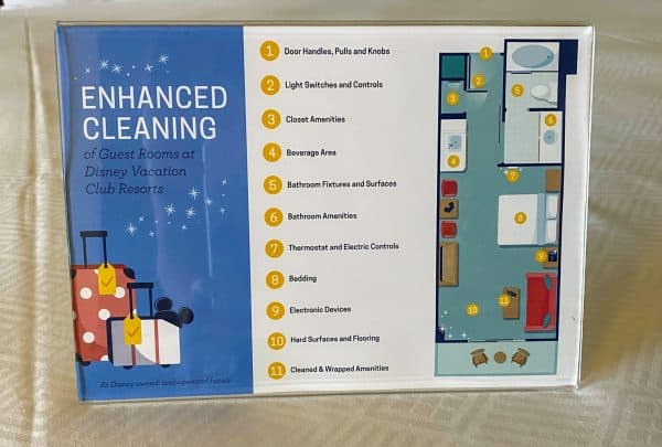 enhanced cleaning at disney resorts