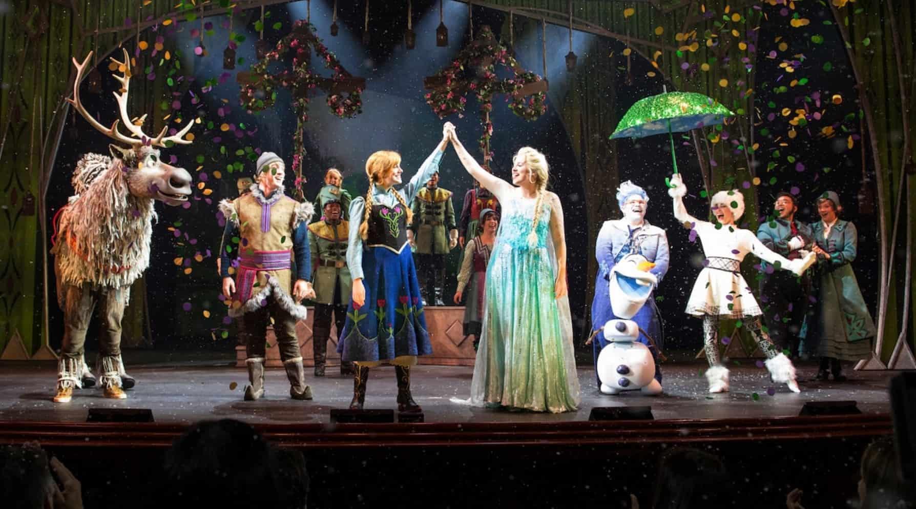 Frozen Musical on the Disney Wonder