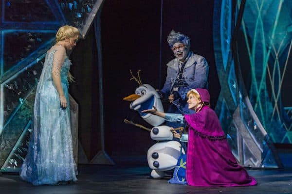 Frozen, A Musical Spectacular on Disney Wonder