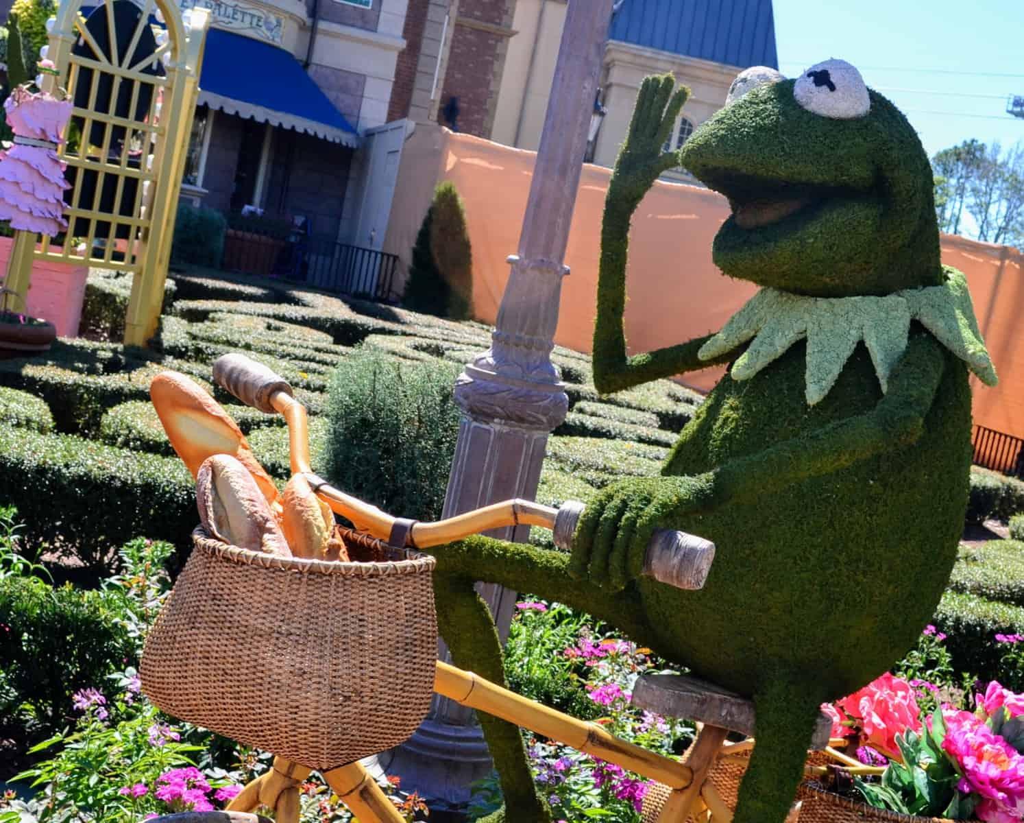 Kermit from Flower and Garden Festival