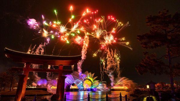 harmonious fireworks epcot