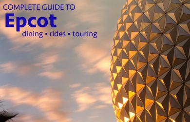 epcotguide 390x250 - Complete guide to Epcot