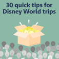 30 quick tips for Disney World trips