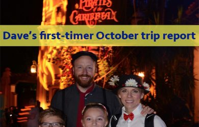 Dave's First Timer October trip report | WDW Prep to Go episode 157