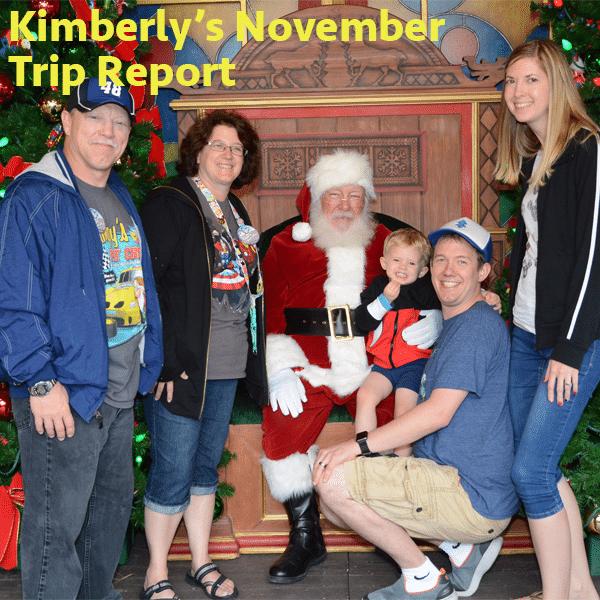 Kimberly's november trip report