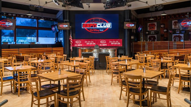 The pros and cons of all Epcot-area restaurants - ESPN Club (lunch) – Temporarily Closed