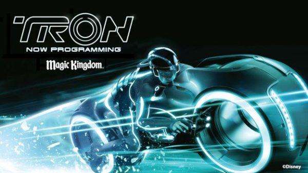 Tron poster magic kingdom