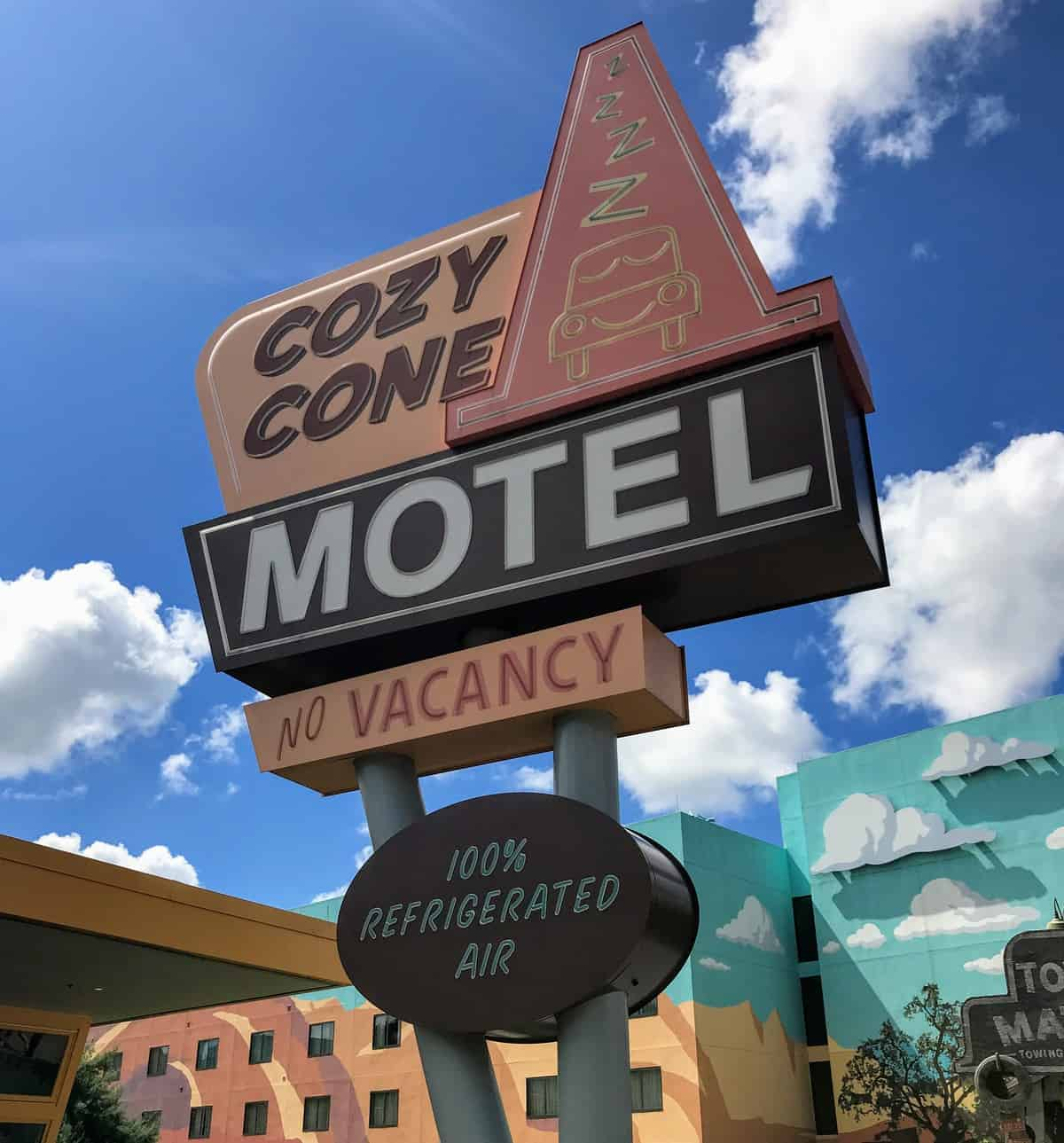 Art of Animation Cozy Cone sign