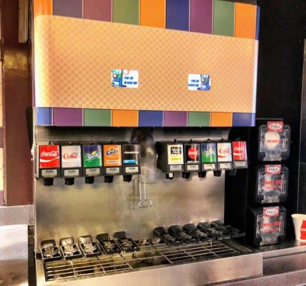 Soda machine for Rapid Fill