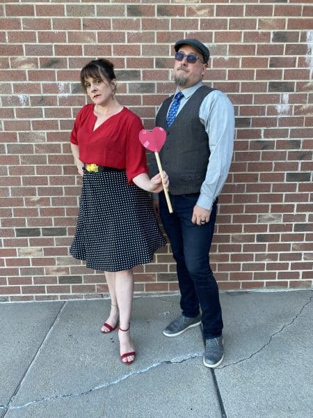 Queen of Hearts and Hades DisneyBound