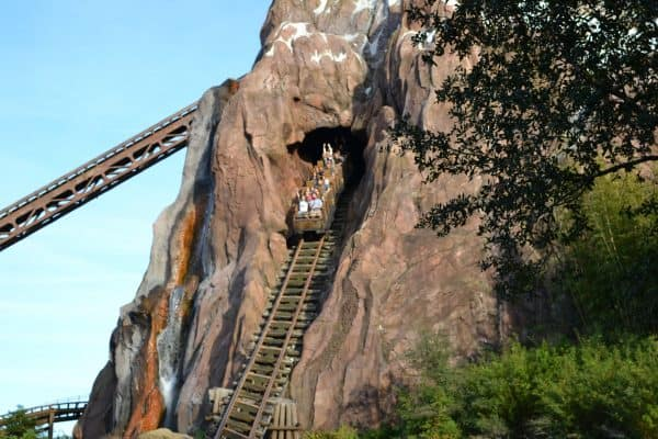 hill on expedition everest