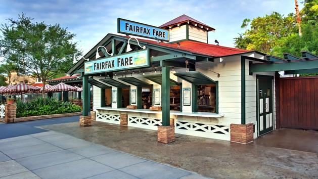 Hollywood Studios Dining - Fairfax Fare (lunch)