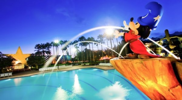 Fantasia Pool at All-Star Movies