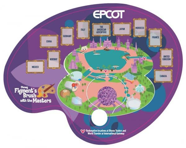 Figment's Brush with the Masters scavenger hunt