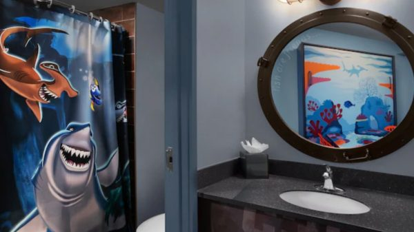Finding Nemo family suite at Art of Animation