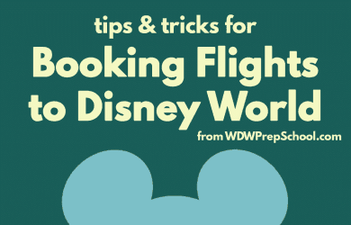 findingbestflightssquare 390x250 - Finding the best flights for your Disney World trip
