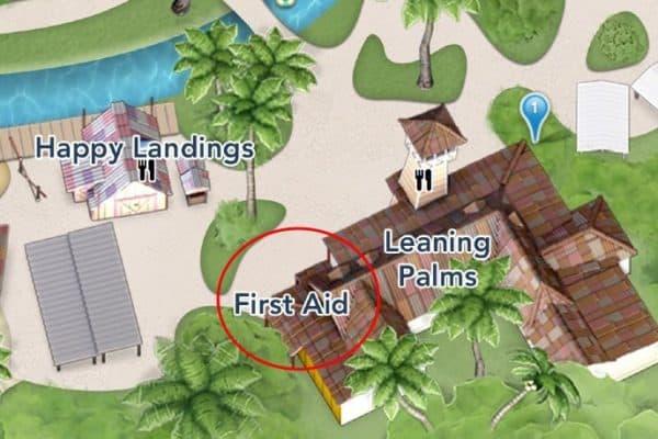 first aid at typhoon lagoon