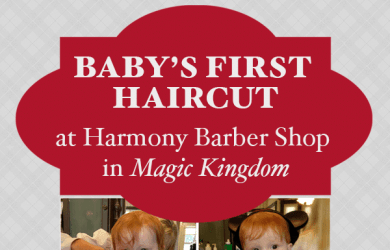 firsthaircutsquare 390x250 - Getting a baby's first haircut at Harmony Barber Shop