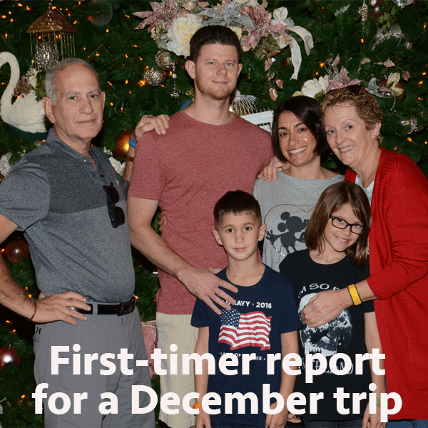 First-timer report for a December trip | WDW Prep School