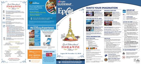 Food and Wine Festival Map 2019