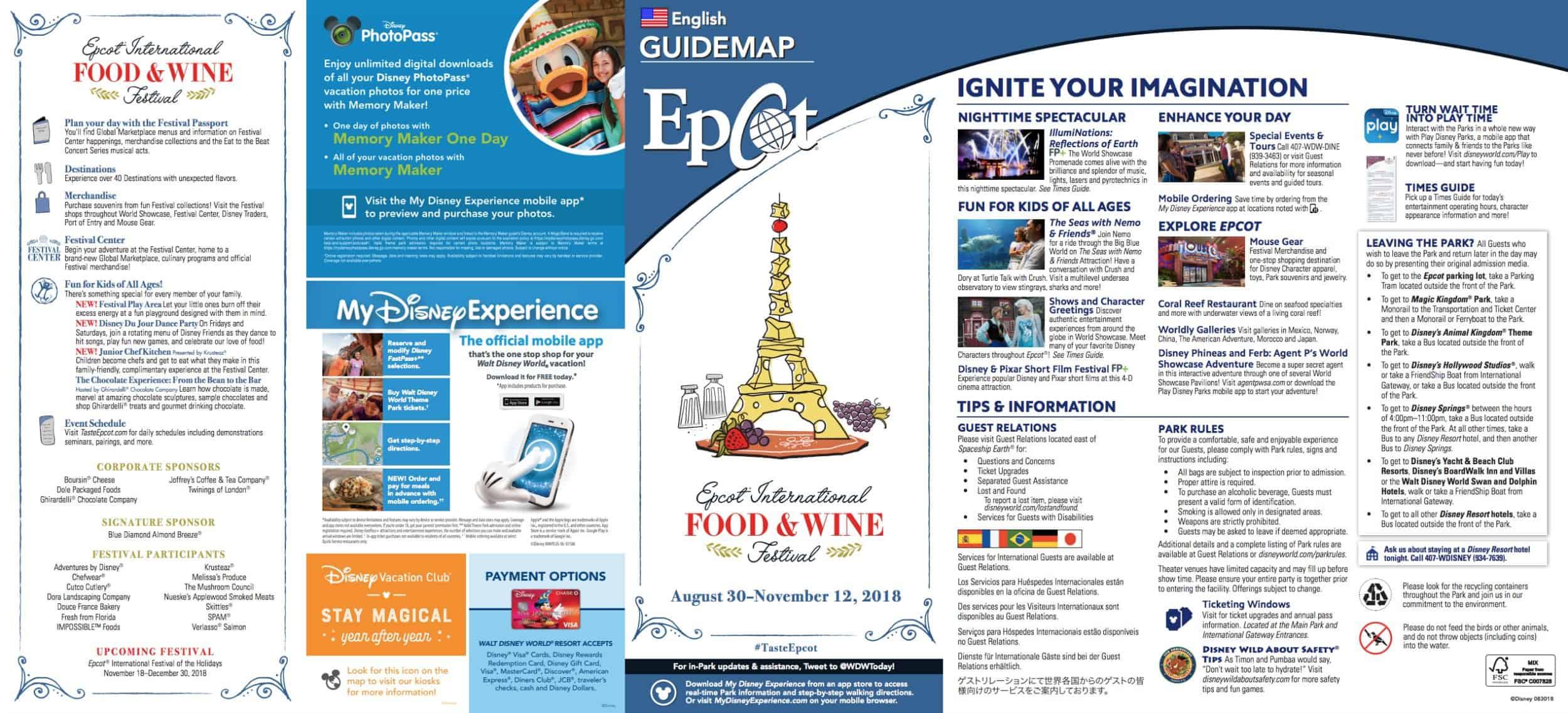 food-wine-festival-map | WDW Prep School